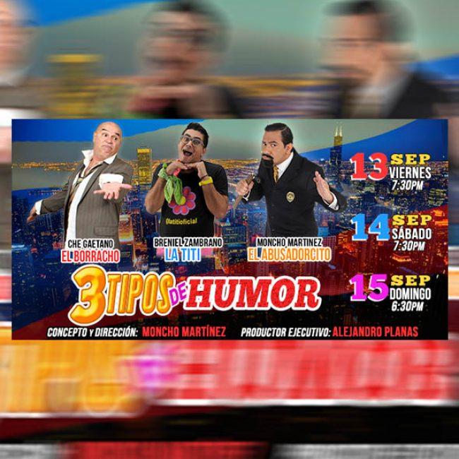 Tres Tipos de Humor