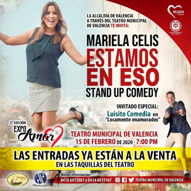Estamos en Eso, stand up comedy
