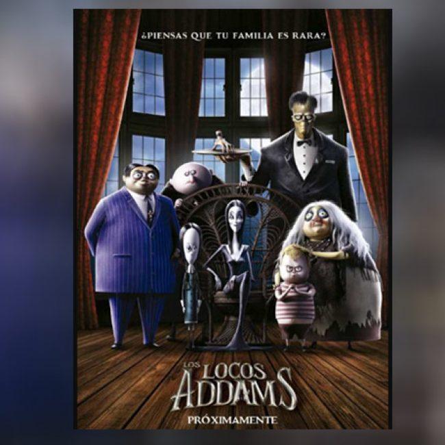 Película animada de Los Locos Addams
